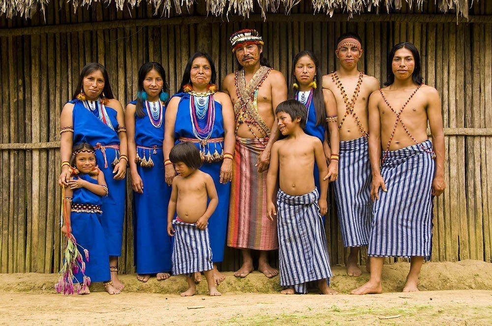 Cupiambritza - Shuar Family