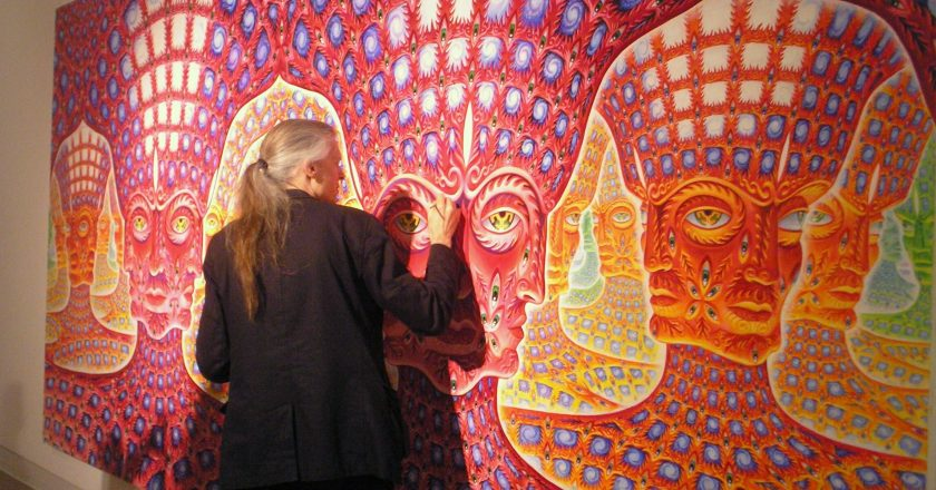 Alex Grey On Contemporary Visionary Culture At The World Psychedelic Forum 2008