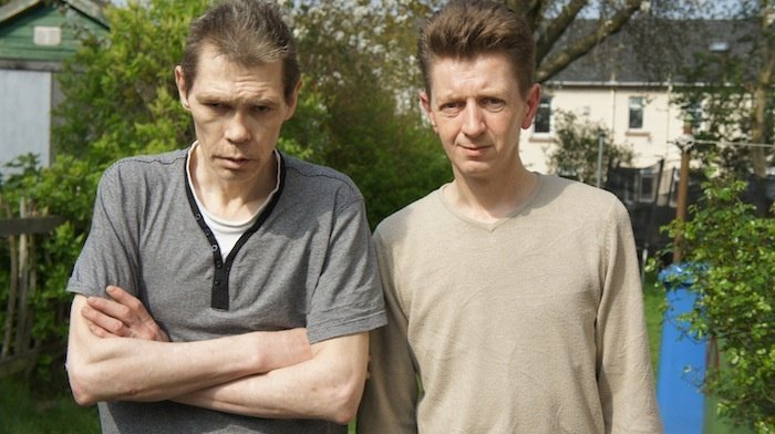 Glaswegian heroin addicts Ian and Paul undergo a gruelling Ibogaine treatment during the film