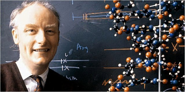 Nobel Prize Winner Francis Crick