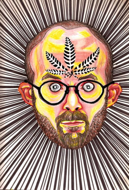 This Artist Drew Self-Portraits on 50 Different Drugs (Photos)