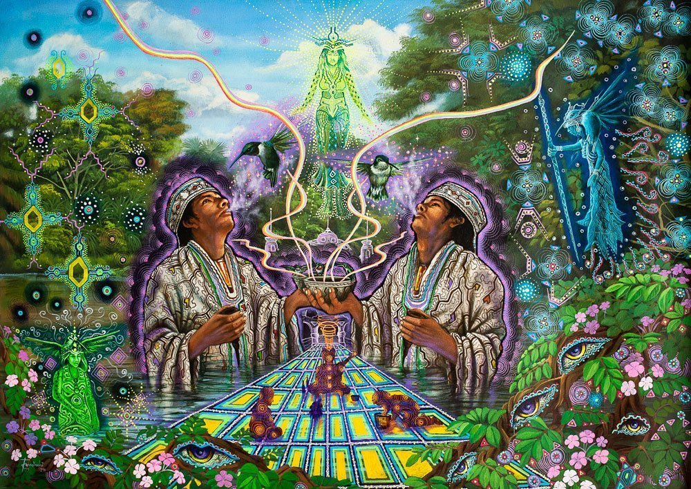 The Visionary World Of Ayahuasca – Plant Spirit Shamanism In The Amazon