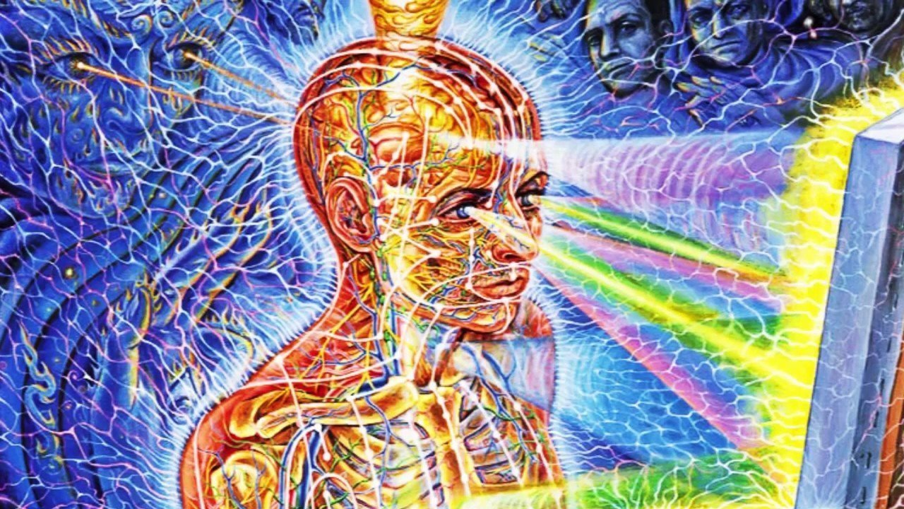 The Creative Process and Entheogens by Alex Grey adapted from The Mission of Art