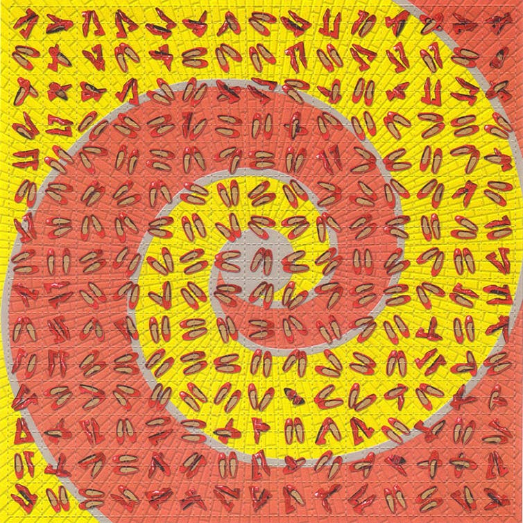 Ruby slippers LSD sheet. William Rafti, CC BY