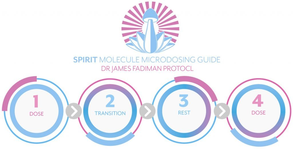 Spirit Molecule Microdosing Guide - 4 Steps to Microdosing with Psilocybin & LSD